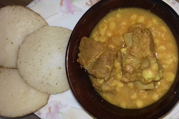 Chitoi Pitha - Bhutt or Chholar Daal with Beaf from Taste of Bangla